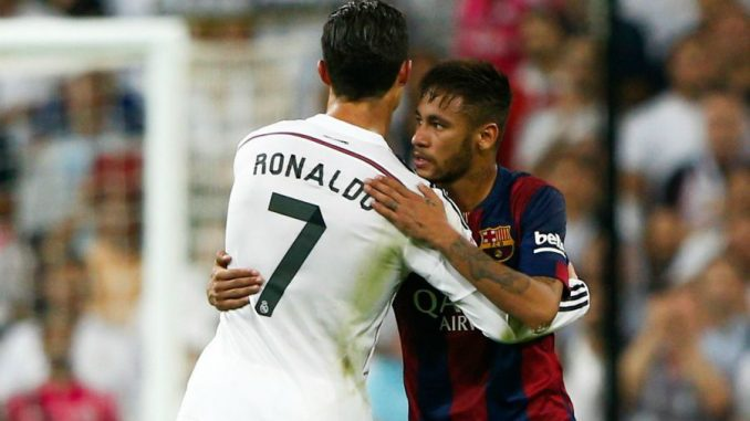"""Ronaldo à Neymar: """"Ne pars pas au PSG """" - Teledakar"""