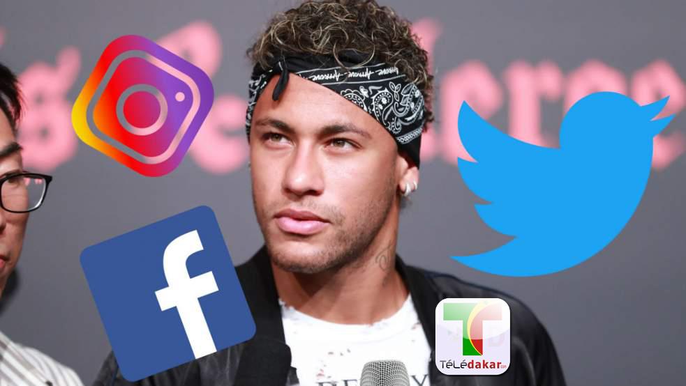 neymar a plus de followers sur facebook instagram et twitter que tous les clubs de ligue 1. Black Bedroom Furniture Sets. Home Design Ideas