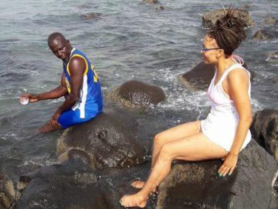 Photos - Assane Diouf et sa femme Malika prennent des vacances méritées