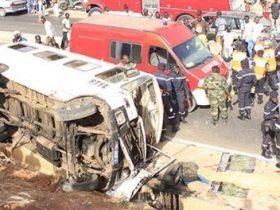 Accident sur l'Autoroute à péage à hauteur de Dalifort