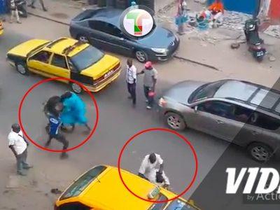 Vidéo - Bagarre générale entre un taximan est des passagers