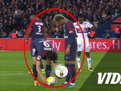 Vidéo - Quand Cavani et Neymar se disputent pour tirer le penalty