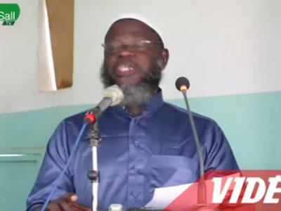 Vidéo - Oustaz Oumar Sall dénonce le génocide des rohingyas en Birmanie et dénonce le silence des musulmans