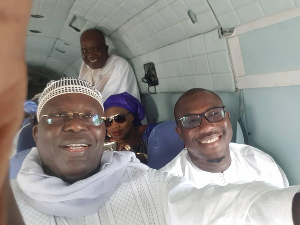 Magal Touba 2017 : Wade et sa délégation survolent Touba