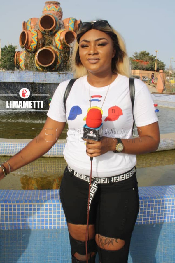 """Photos - Lala Diop, l'animatrice la plus """"jongué"""" de D-Médias  %Post Title"""