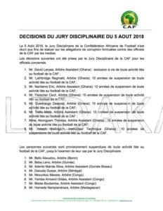 Football~ Soupçon de Corruption : Un arbitre sénégalais suspendu pour...  %Post Title