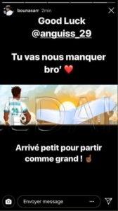 Marseille : Bouna Sarr fait ses adieux à…  %Post Title