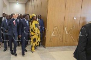 Dakar Arena – Marieme Faye Sall: « Ce complexe participe au rayonnement du Sénégal »  %Post Title