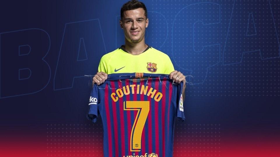 FC Barcelone : Découvrez le nouveau numéro de Phillipe Coutinho  %Post Title