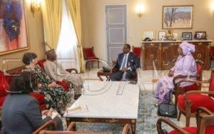 Lutte contre les drogues: Macky Sall audience le Président Obasanjo  %Post Title