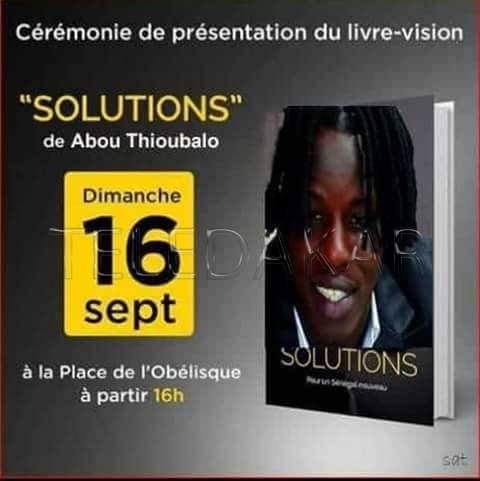 """Publication de son livre : Ousmane Sonko """"le nouveau Thioubalo""""  %Post Title"""