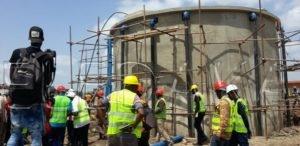 Alimentation de Dakar en Eau : Les ouvrages hydrauliques de Tassette en phase de réception