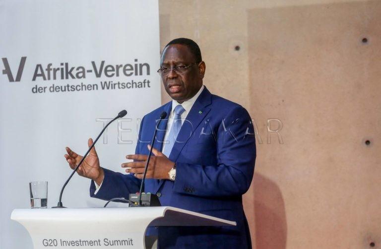 Macky Sall présent au Sommet du G20 sur l'investissement Compact With Africa (photos)