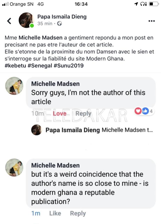 Ousmane Sonko et le scandale Tullow Oil: la journaliste angalaise brise le silence  %Post Title