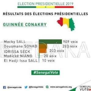Les résultats au Cameroun et en Guinée Conakry favorisent Macky Sall (photos)