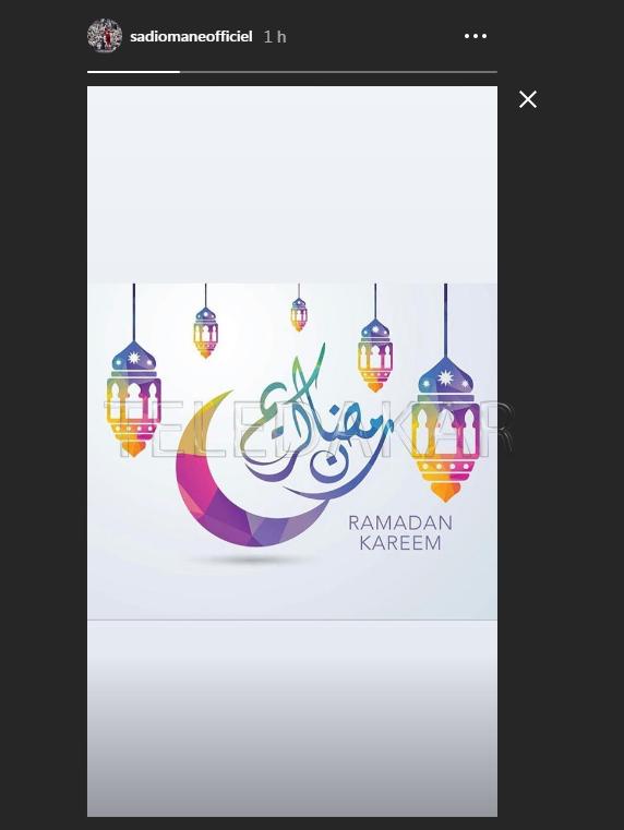 Photos - Le message de Sadio Mané aux musulmans pour le Ramadan  %Post Title