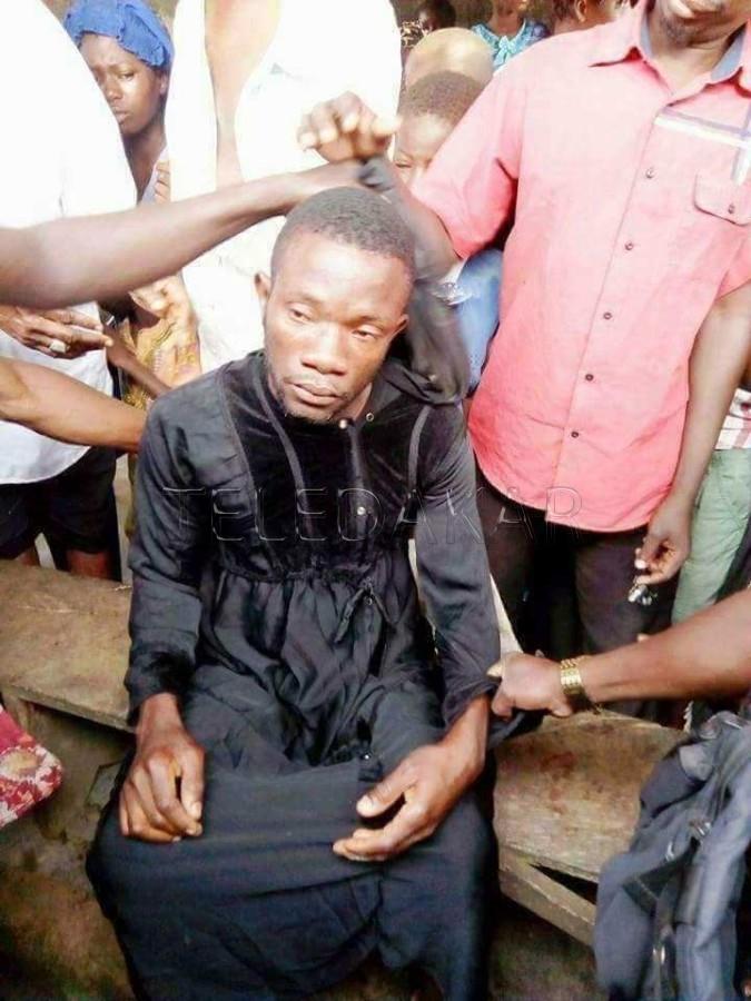 Arrestation d'un homme déguisé en burqa  %Post Title