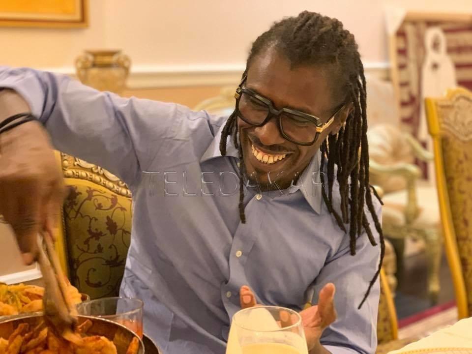 Photos- Tabaski : Inédit : Diouf et Cissé se sont finalement retrouvés  %Post Title