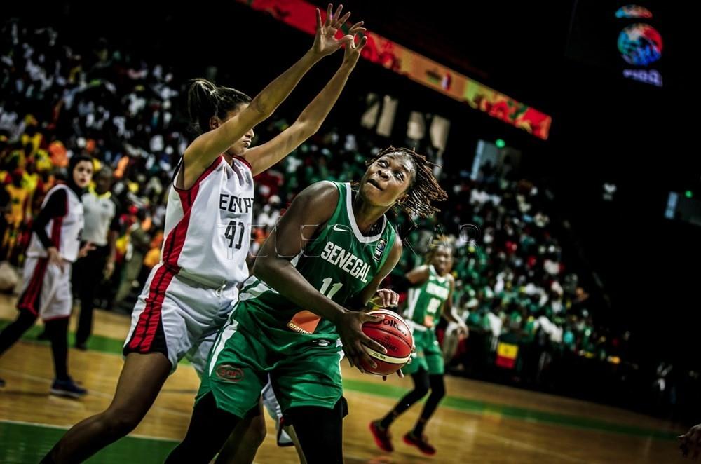 Photos - Afrobasket 2019: mi-temps Egypte vs Sénégal: les Lionnes atomisent les egyptiennes  %Post Title