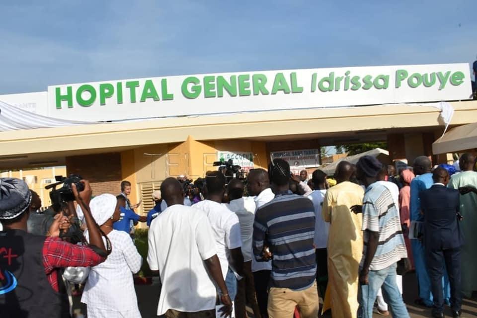 Photos - L'hôpital Général de Grand Yoff devient l'hôpital Général IDRISSA POUYE.