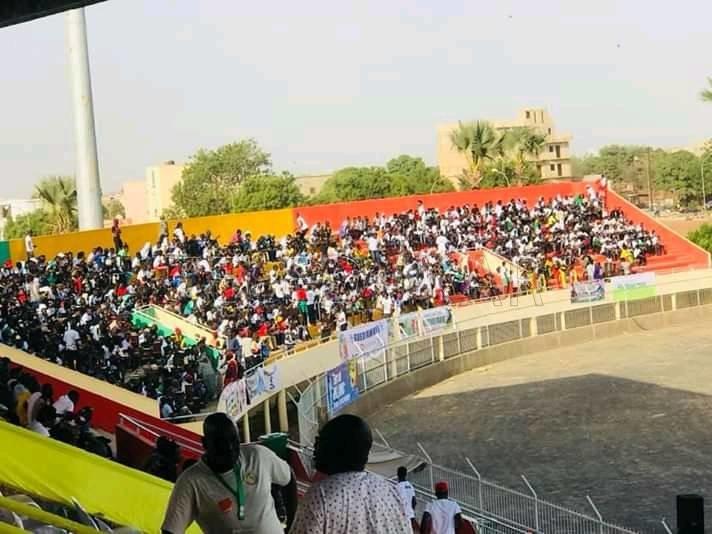 Photos - Sénégal vs Congo: les premières images du stade Lat Dio à quelques heures du match