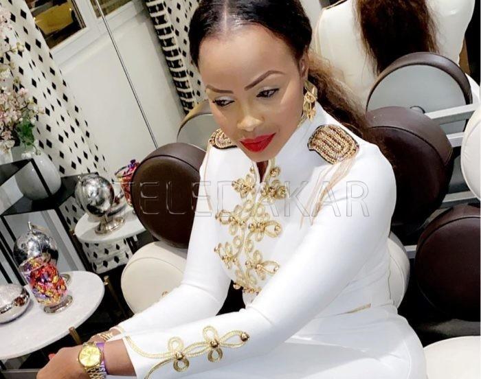 Mbathio Ndiaye féerique, élégante et bien généreuse (Photos)