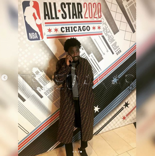 Photos - All Star Game 2020 : Wally Seck est bien arrivé à Chicago
