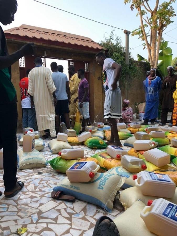 Coronavirus : Ziguinchor reçoit un important don depuis Monaco de la part de Seydou Sy
