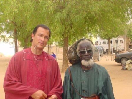 Photos- Mbacké Dioum, l'homme qui avait amené Steven Seagal à Touba