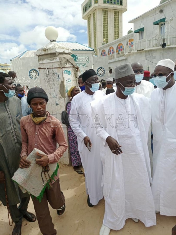 Khalifa Sall à Médina Baye