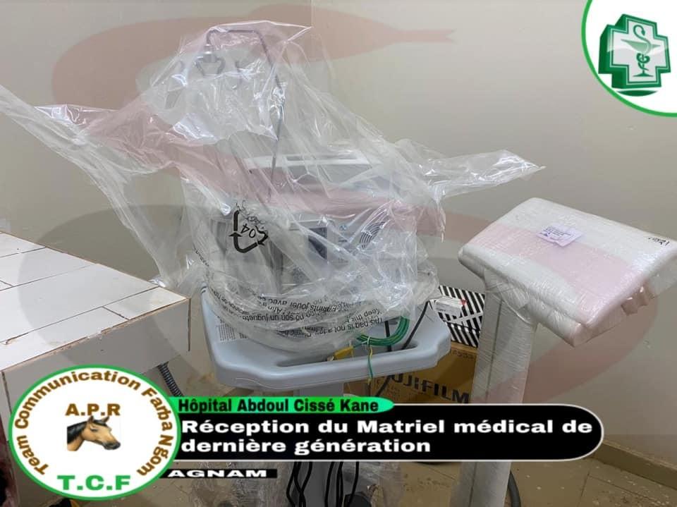 L'hôpital des Agnams fin prêt pour accueillir les premiers patients